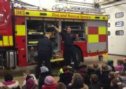 Year 2 at the Fire Station